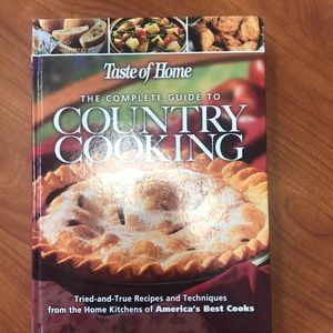 Other - THE TASTE OF HOME BEST OF COUNTRY COOKING COOKBOOK